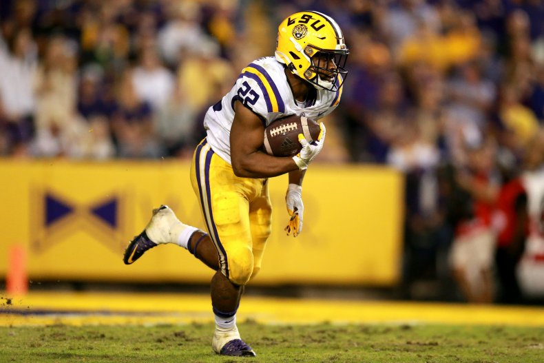 Clyde Edwards-Helaire LSU Tigers