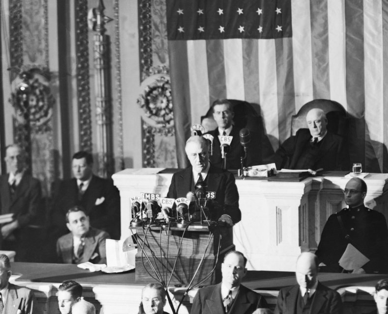 fdr pearl harbor speech