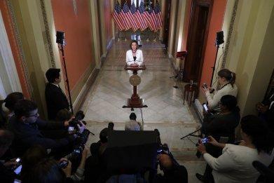 vulnerable Democrats articles of impeachment