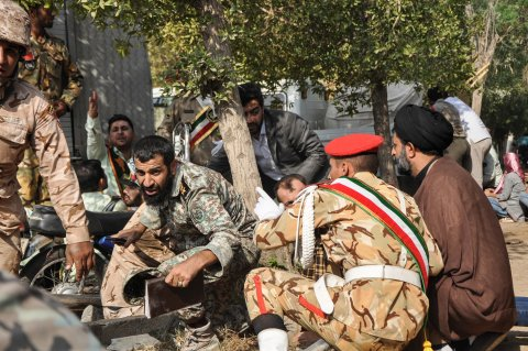 iran attack parade isis arab separatists