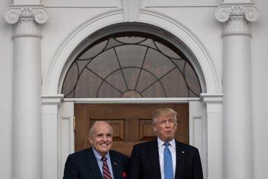 Donald Trump Rudy Giuliani impeachment calls Russia