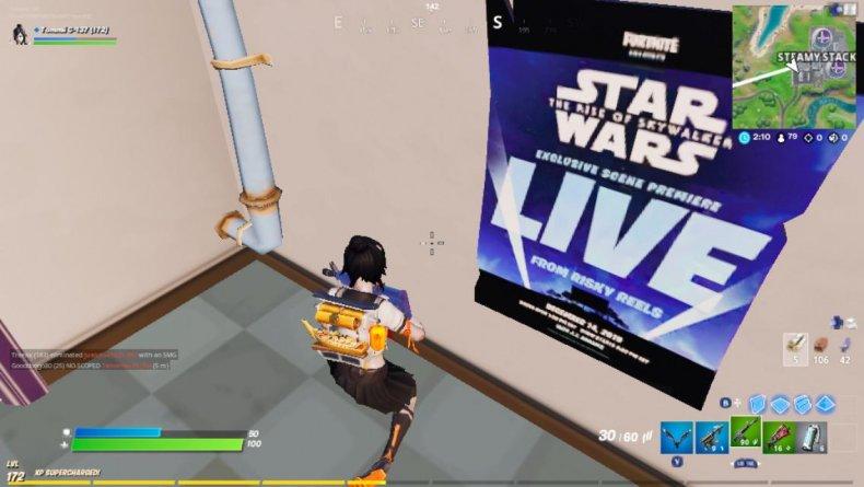 fortnite star wars rise skywalker event poster