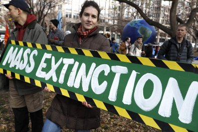 climate change protest green new deal Washington