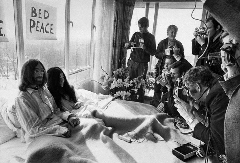 John Lennon and Yok Ono