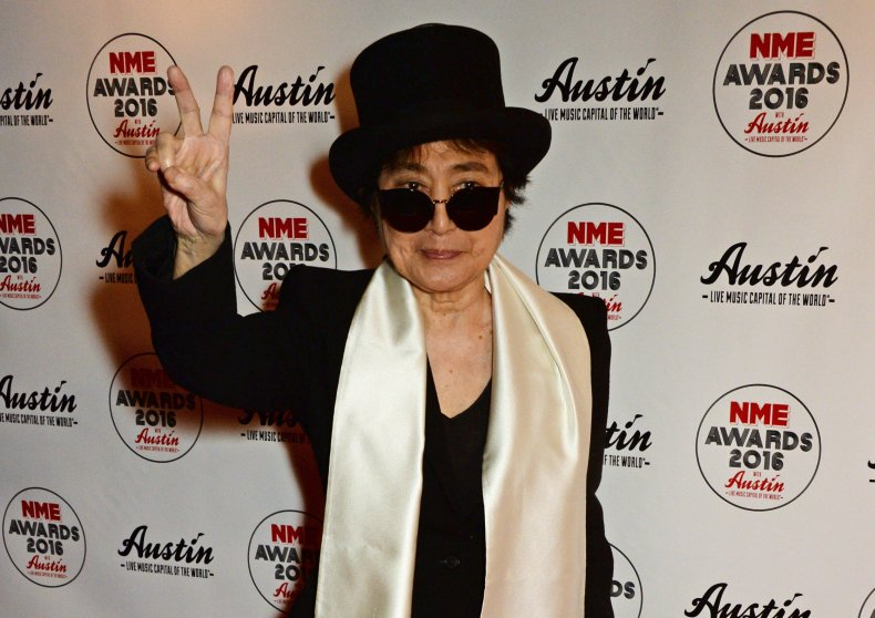 Yoko Ono NME