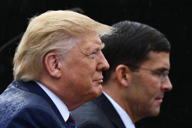 Trump and Esper