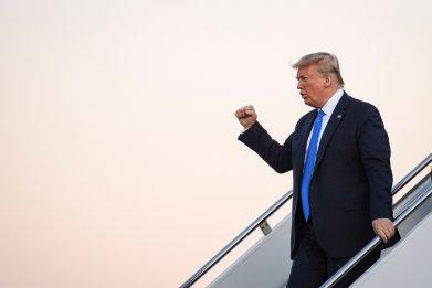 Donald Trump, war criminal, pardon, Florida, fundraising