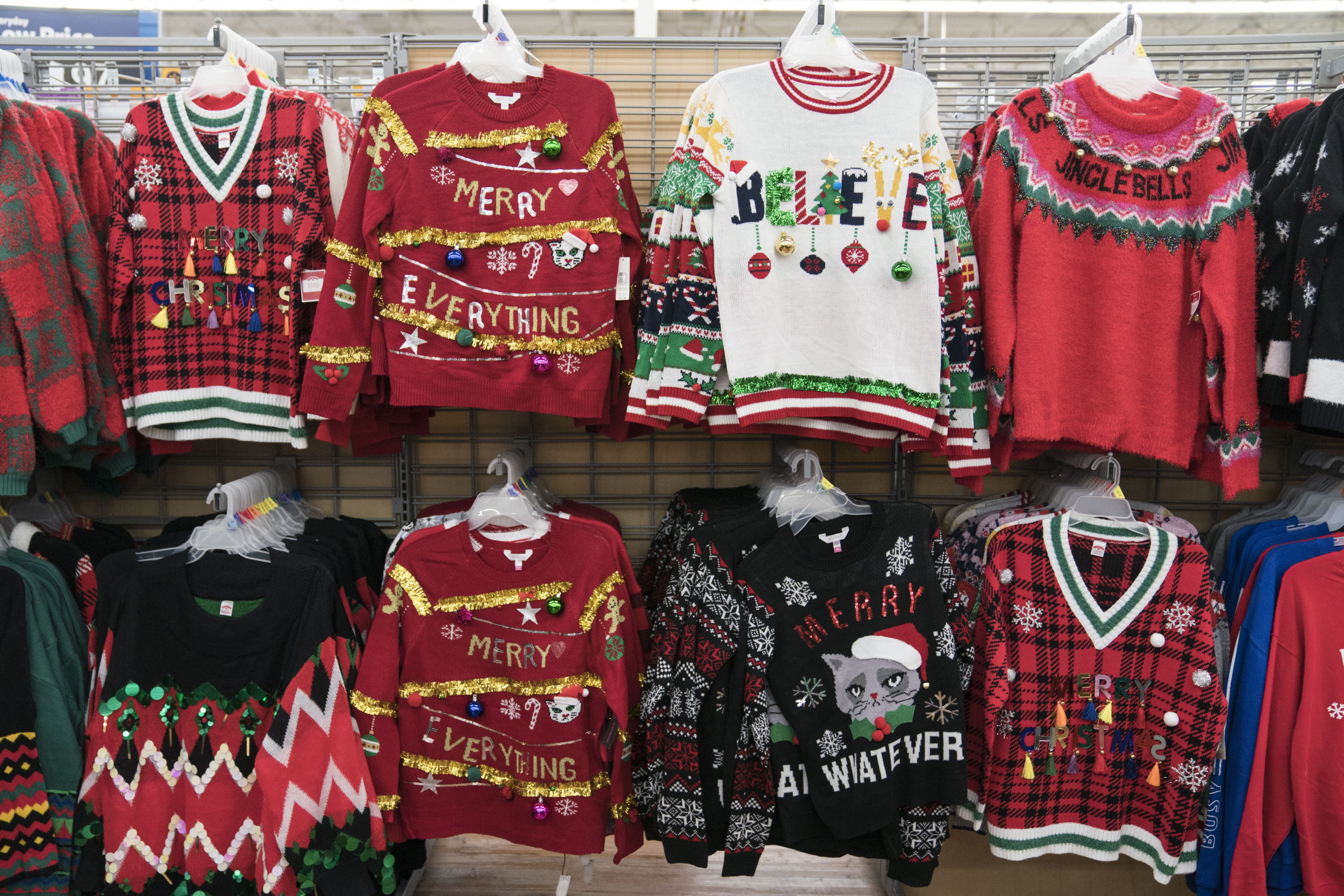 Walmart Apologizes for Selling Christmas Sweaters Appearing