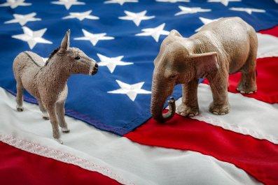 GOP, Republican, Democrat, politics, Stock, getty