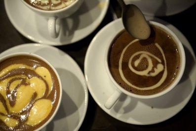 Hot cocoa france paris