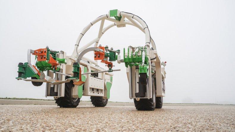Remy Martin robot vineyards