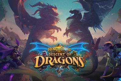 hearthstone descent of dragons release time