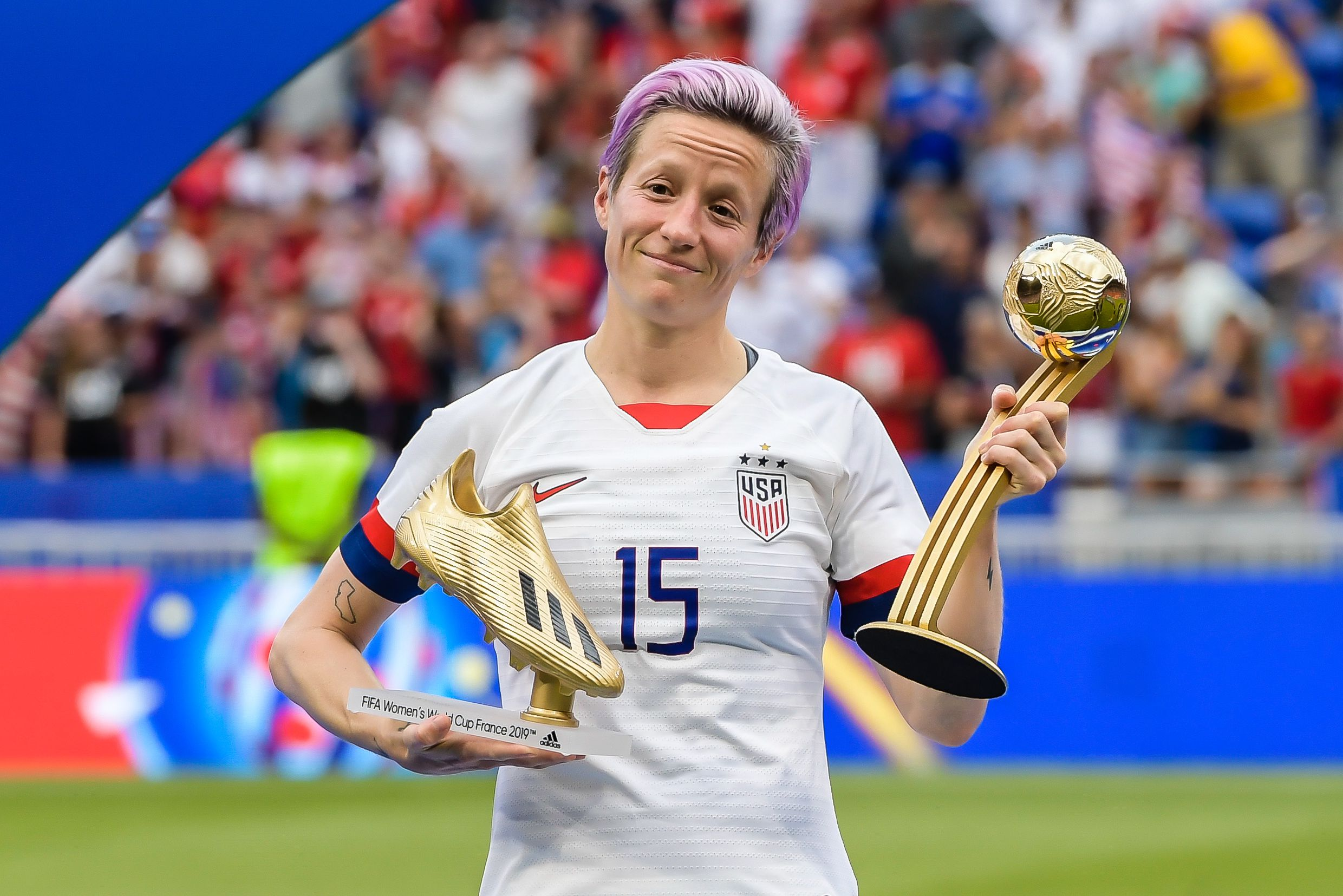Megan Rapinoe Is the Most Tweeted about Female Athlete of the Year
