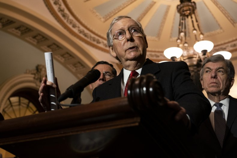 Democrats, Mitch McConnell, Congress, Senate, bills, desk