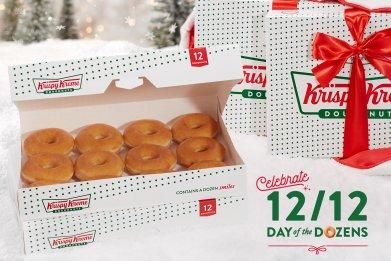 Krispy Kreme Dozen $1 2019