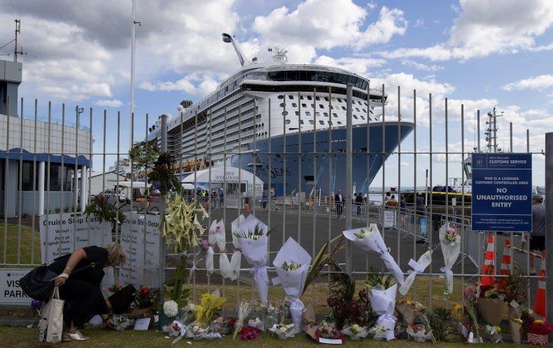 The Ovation of the Seas cruise ship