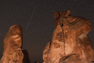 Geminid meteor shower, Nevada