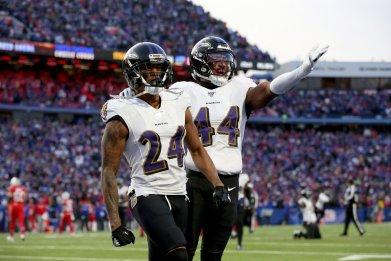Marcus Peters, Marlon Humphrey, Baltimore Ravens