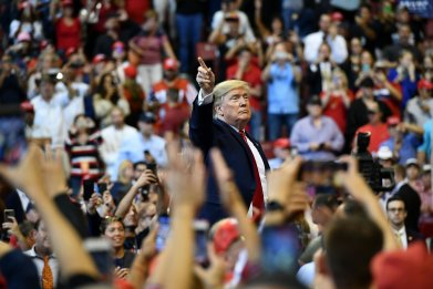 Trump Rallies Continue to Bemuse, Entertain