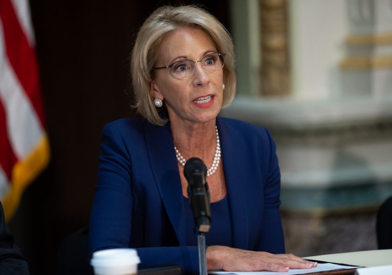 betsy devos title ix changes lawmakers bill