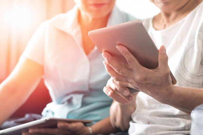senior citizens, technology