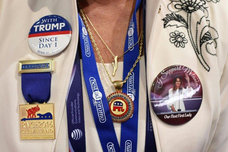 trump badge