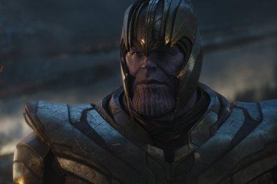 Thanos in Avengers