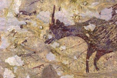 cave art hunting