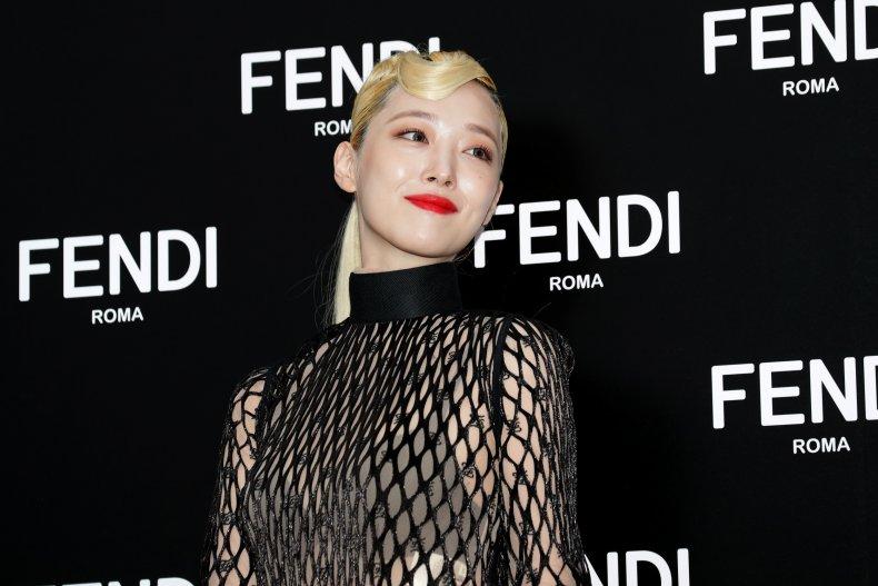 Sulli K-pop south korea Fendi 2019