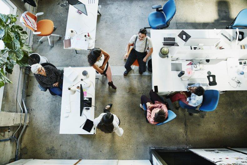 Office Open Floor Plan