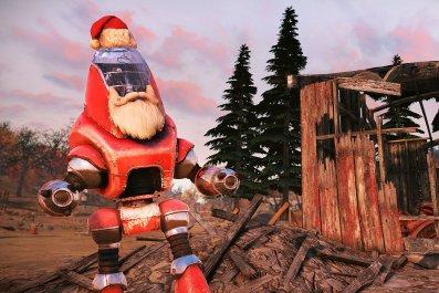 fallout 76 december update santatron