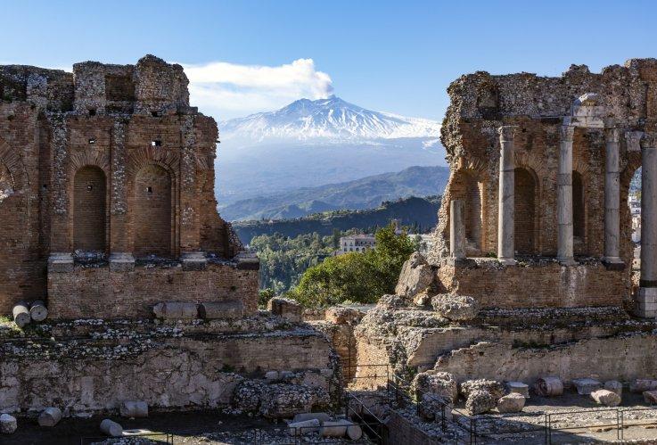 Mt Etna, Italy