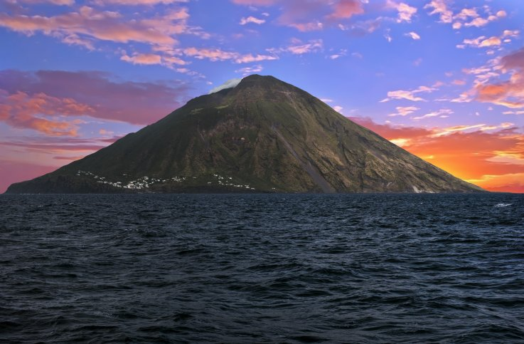 Mt. Stromboli, Italy