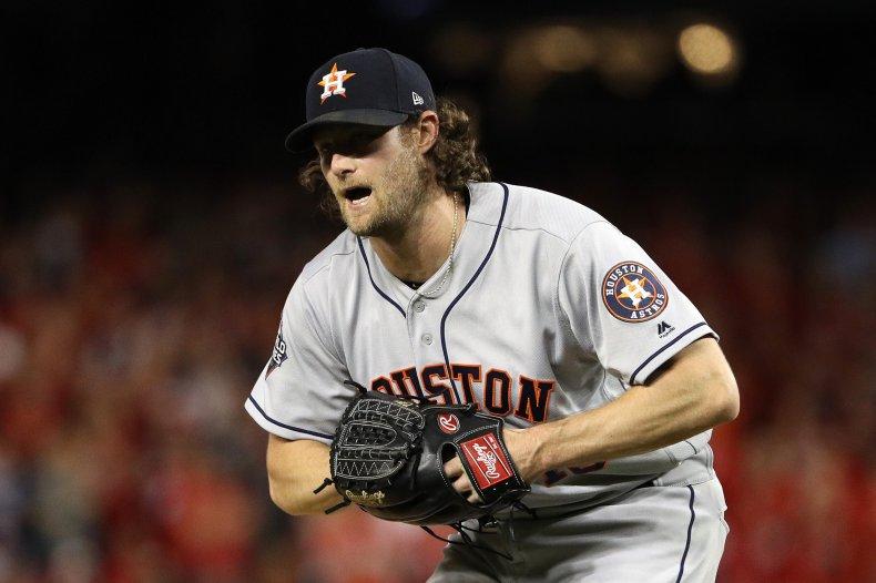Gerrit Cole, Houston Astros