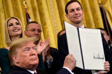 Donald Trump, Jared Kushner, anti-Semitism, Executive order