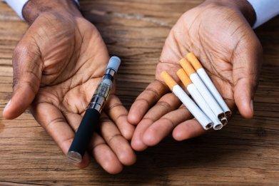 vaping, e-cigarette, smoking, stock, getty
