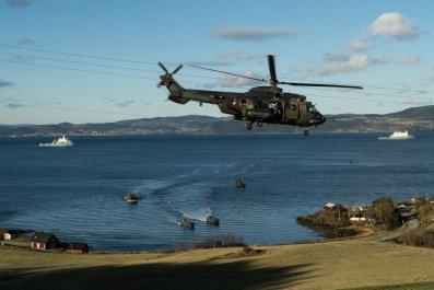 nato alliance drills military alliance norway