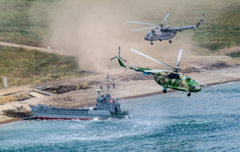 russia east 2018 drills china mongolia