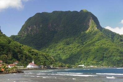 Rainmaker Mountain, American Samoa