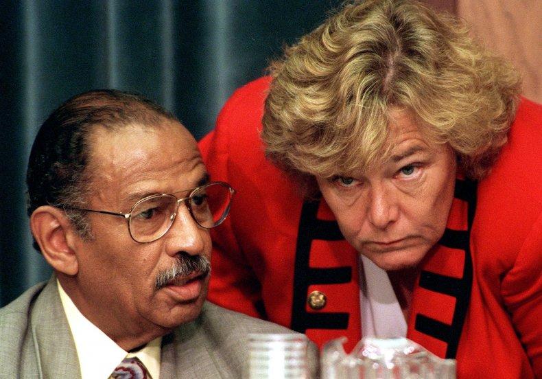 Lofgren and Conyers, Bill Clinton impeachment