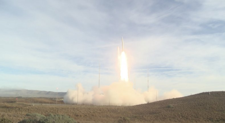 us ballistic missile launch inf treaty violate