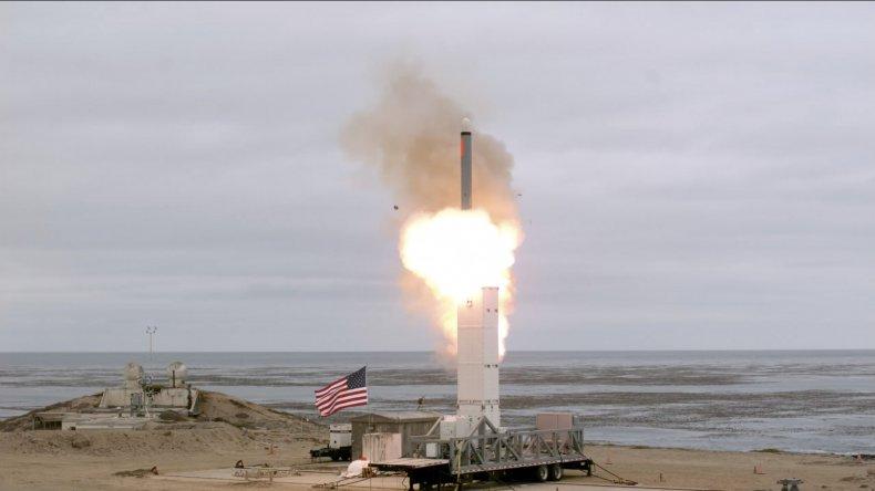 us tomahawk land cruise missile test