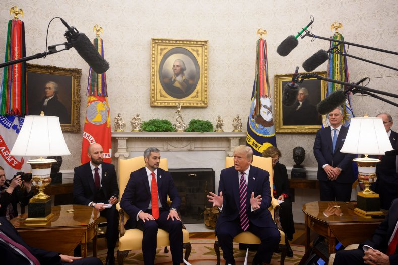 us paraguay presidents meeting white house