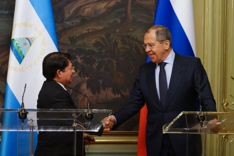 russia nicaragua foreign ministers meeting