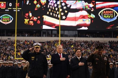 Trump Army-Navy Game
