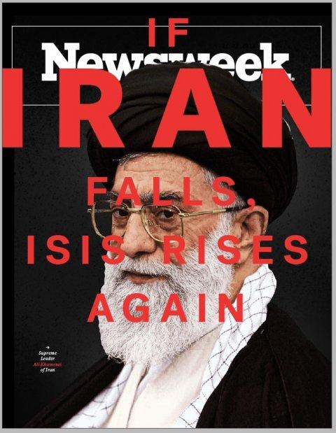iran khamenei newsweek magazine cover