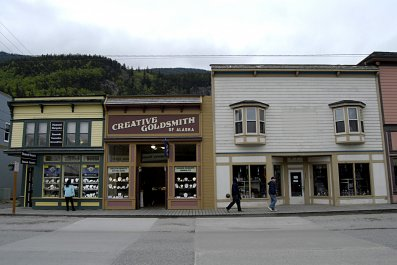 Skagway Alaska business area