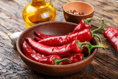 chili pepper, vegetable, Mediterranean diet, stock, getty