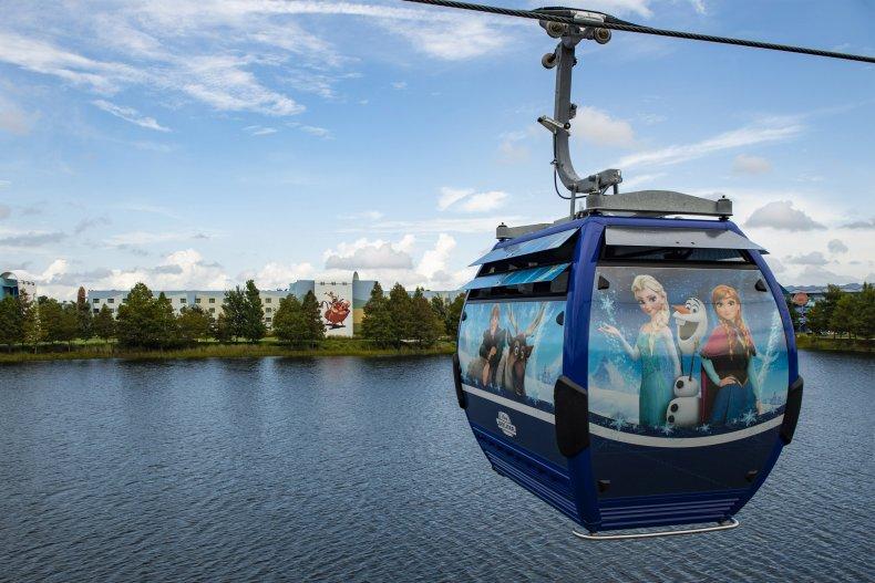 Gondola Disney Riviera Resort 2019