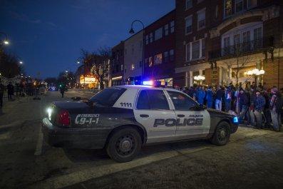 Police Car Burlington